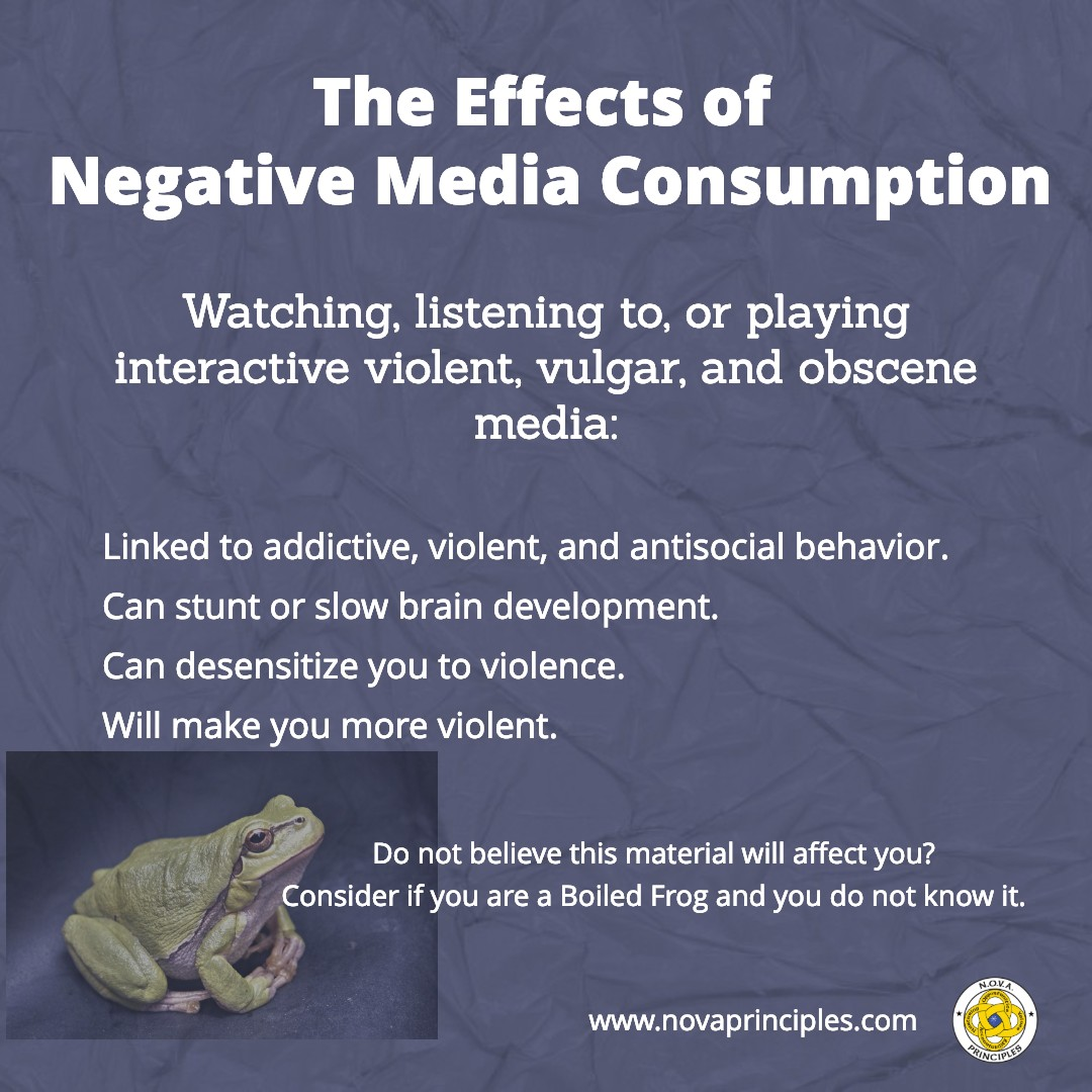 Media - Effects Negative Consumption