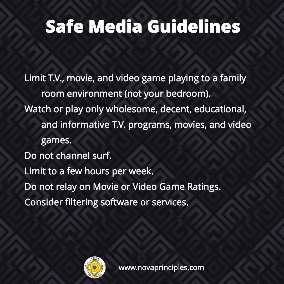 Media - Safe Guidelines
